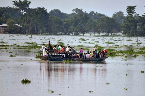 25 districts of assam flooded 22 dead so far