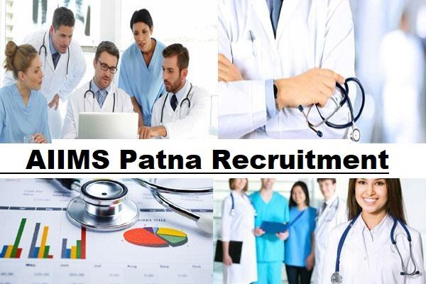 aiims patna recruitment 2020 apply online 10 mrt posts