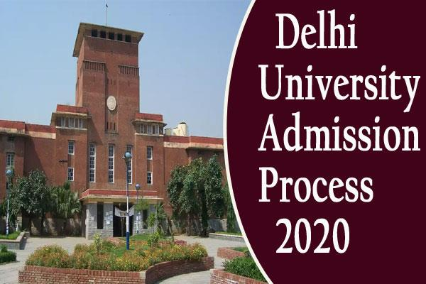 du admissions 2020 delhi university admissions to begin today