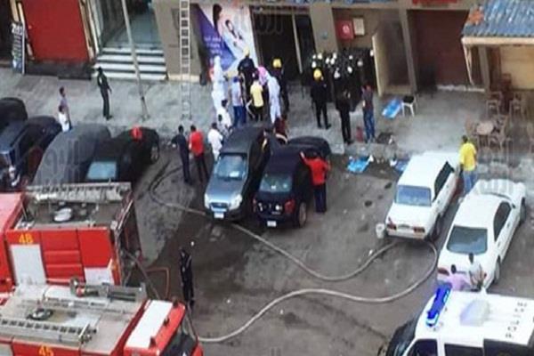 egypt hospital fire kills 7 coronavirus patients