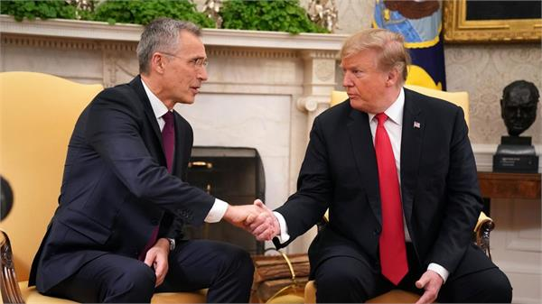 trump nato chief agree on need to reduce afghan violence