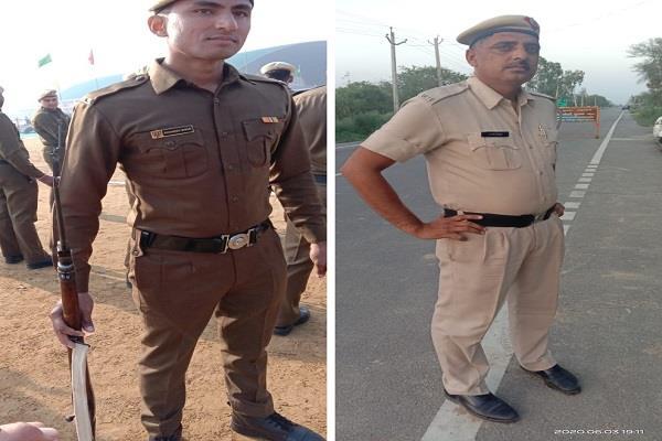 patrolling case of killing of 2 jawans sonepat dgp visits