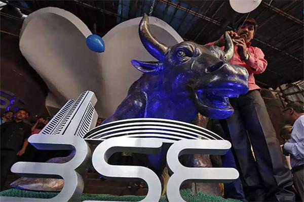 bse opened 302 points and nifty up 90 points