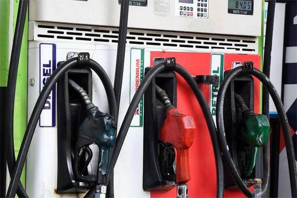 the process of increasing the price of petrol and diesel is not stopping