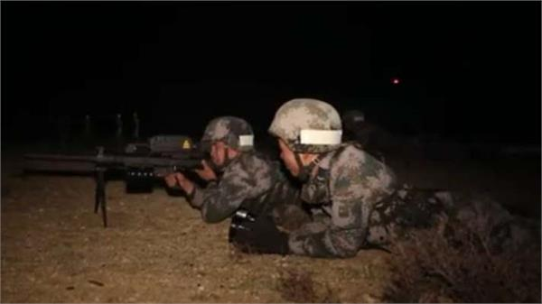 pla tibet military command holds nighttime high altitude drills