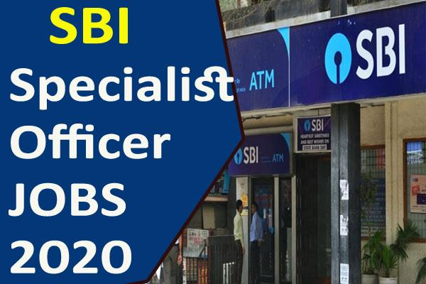 sbi so recruitment 2020 application process begins selection without exam