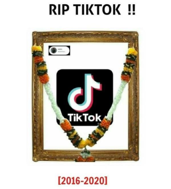 tiktok ban in india people gave last farewell on social media
