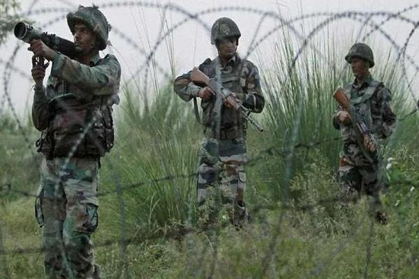 soldier martyred in pakistan firing in poonch