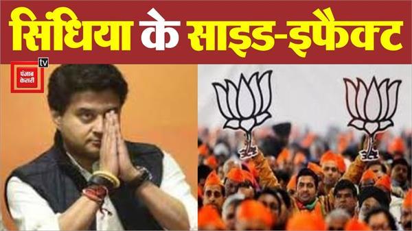 is jyotiraditya scindia weakening bjp
