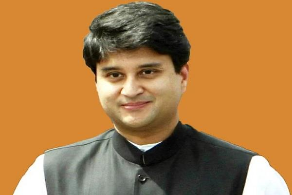 jyotiraditya scindia returned after beating corona