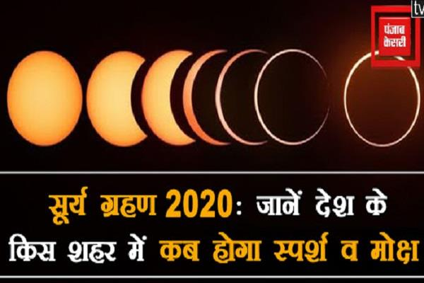 know in which city of the country when will eclipse and salvation