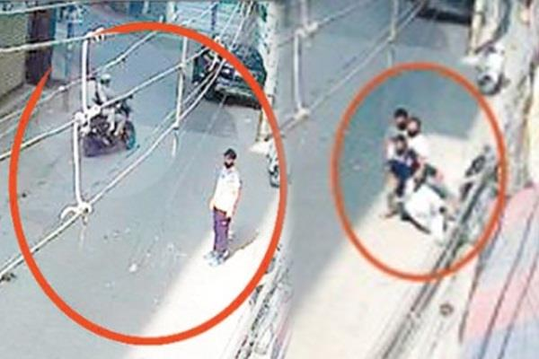 3 youths slipped from high speed activa