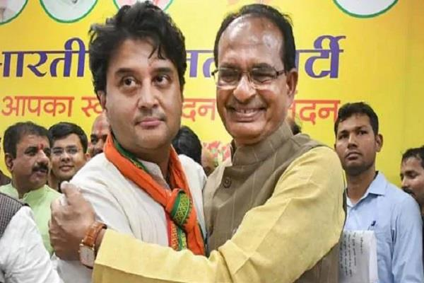big statement of shivraj singh about scindia