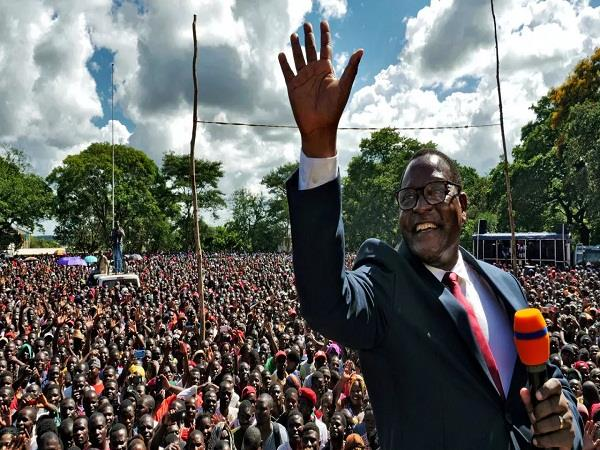 malawi opposition leader lazarus wins historic poll