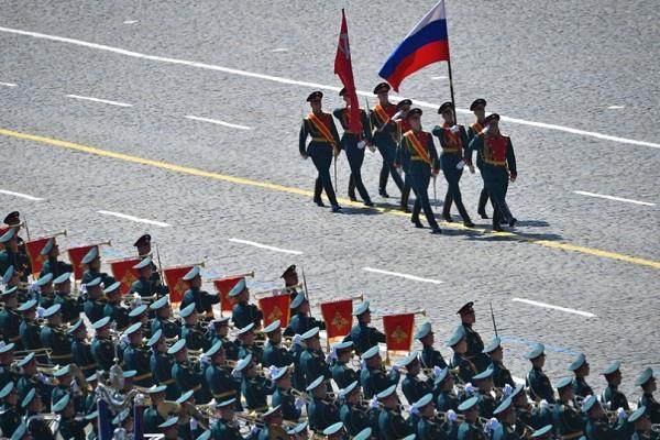 historic victory day parade in moscow