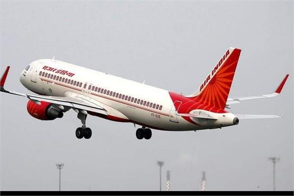 air india flight from dubai to chandigarh carrying 153 indians