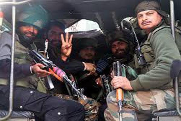 tral gunfight ends 2 militants killed