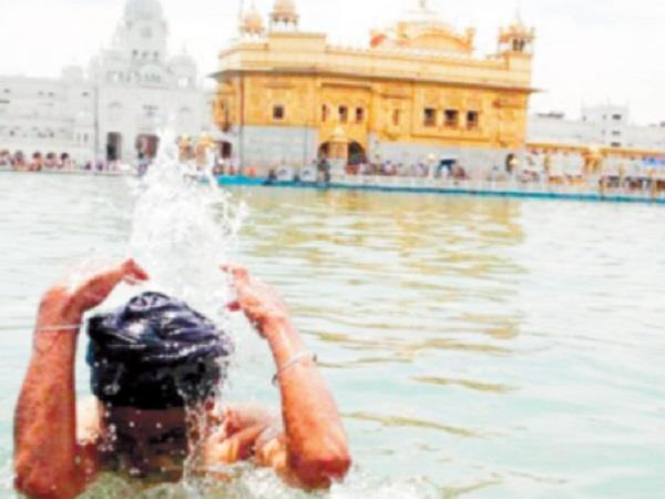 due to corona less sangat come in sri harimandir sahib