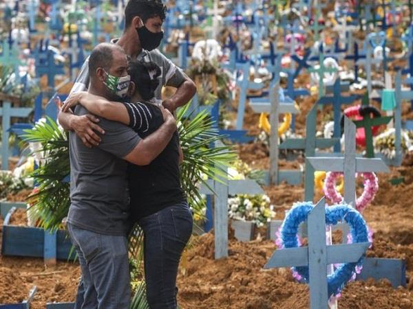 brazil reached number two in the world in corona deaths