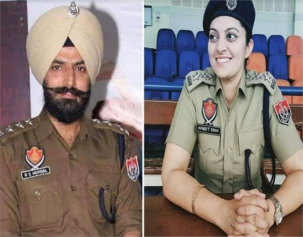 international shooter avneet kaur becomes dsp and hockey player rajpal sp