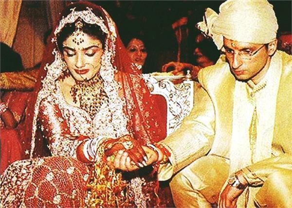 Throwback: आखिर क्यों अपनी ही शादी में रवीना ने चुना 35 साल पुराना लहंगा?