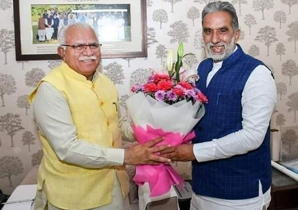 after becoming bjp president union minister can leave the post krishan pal