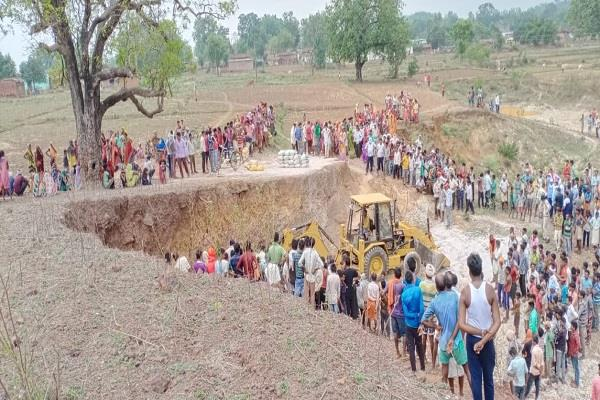6 people died due to mine sinking in shahdol