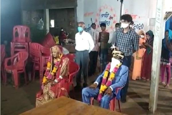 wedding cook turned out to be corona positive in chhatterpur
