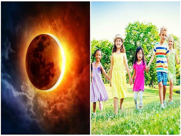 सूर्य ग्रहण के दौरान बच्चों से जुड़ी सावधानियां भी हैं जरूरी