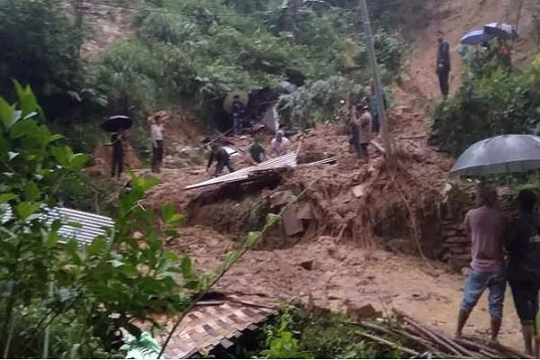 landslide killed 20 people in southern assam