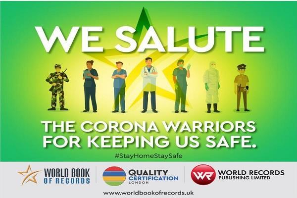 ramswaroop becomes silent warrior in corona epidemic