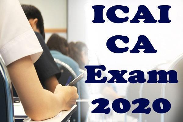 icai gives students option to opt out of ca july 2020 exams