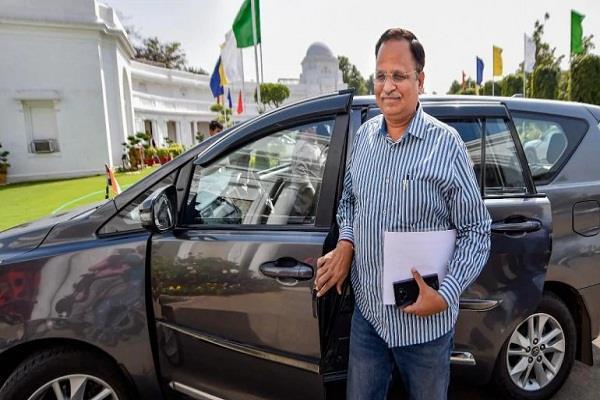 delhi health minister satyendar jain health deteriorated again