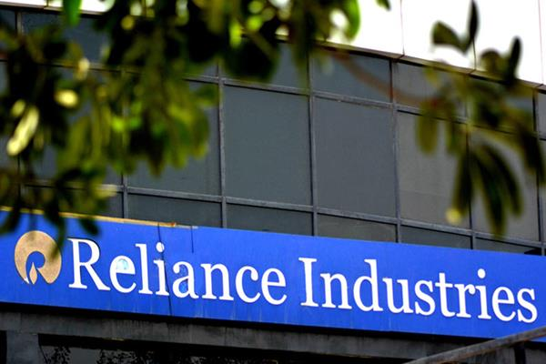 reliance industry shares at record high due to debt relief