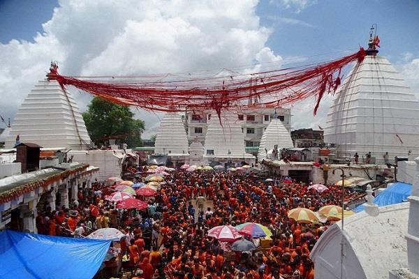 hearing in hc over shravani fair at baba baidyanath temple