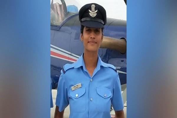 once anchal used to sell tea now fighter plane will fly in the air force
