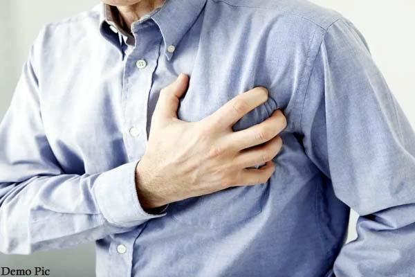 death of person due to heart attack