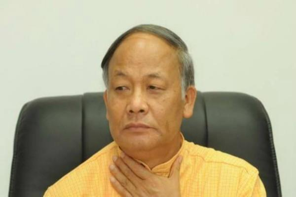 crisis on bjp chair in manipur
