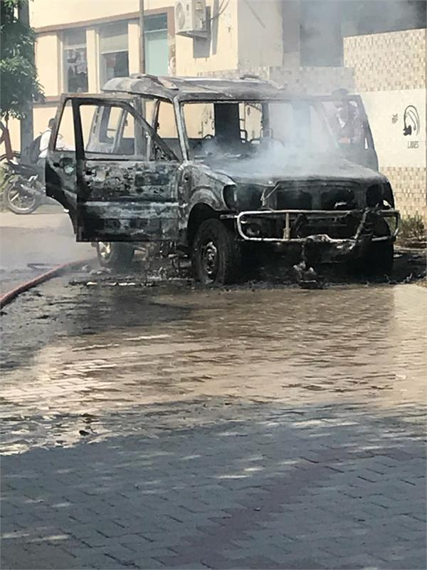 scorpion car was gutted no one was killed