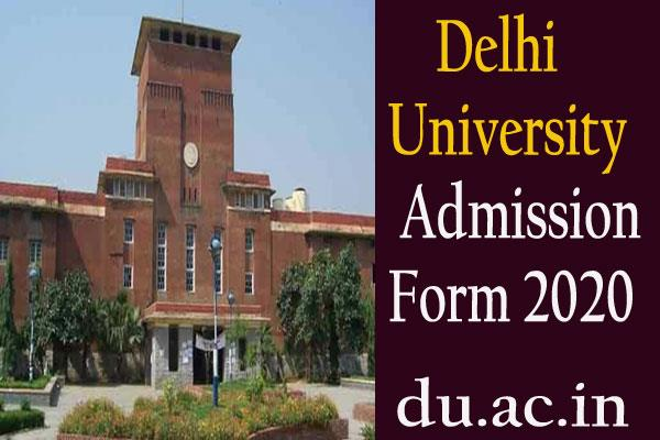 delhi university admissions for ug pg phd courses started