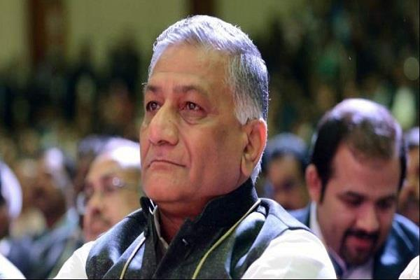 china refuses to respond to vk singh comment