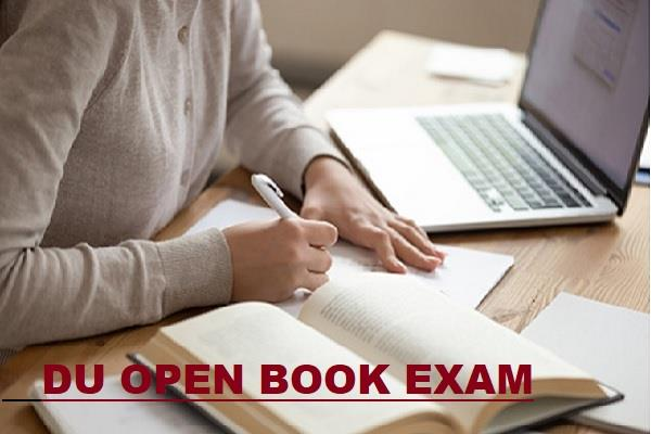 du to go ahead with open book exams