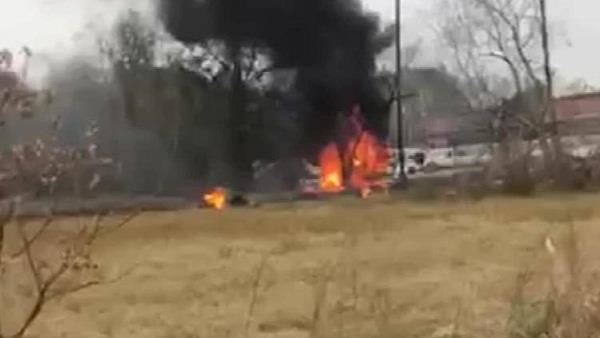 plane crashes in rural georgia 2 children among the 5 dead