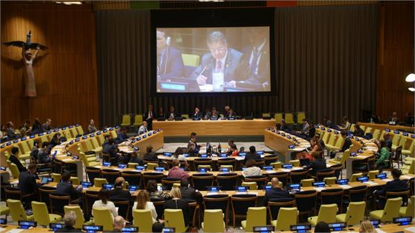 india joins  alliance for poverty eradication  at un as founding member