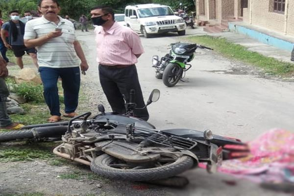 telka road accident woman death