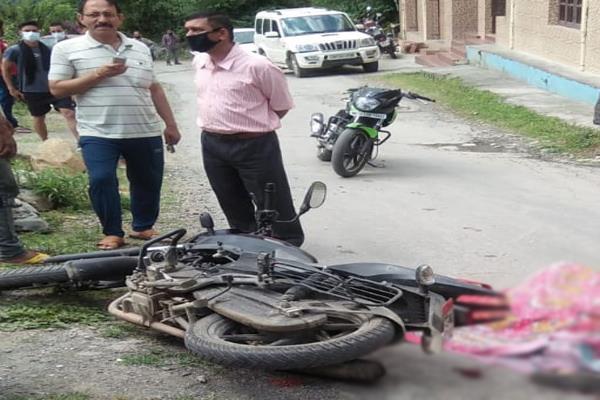 telka road accident woman death