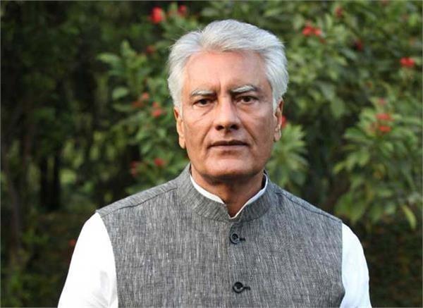 sunil jakhar arrived in pathankot