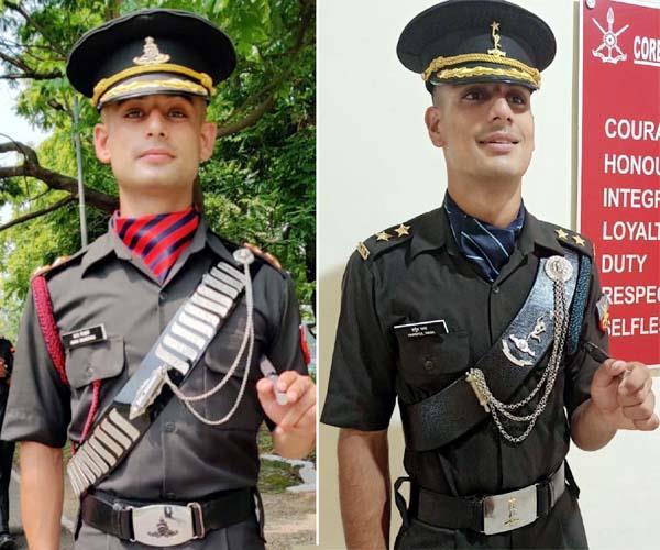 कांगड़ा के अमन शर्मा व हर्षुल राणा बने भारतीय सेना में अधिकारी