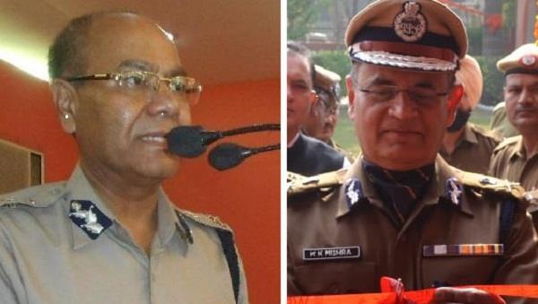 haryana dgp kp singh and kk mishra retired