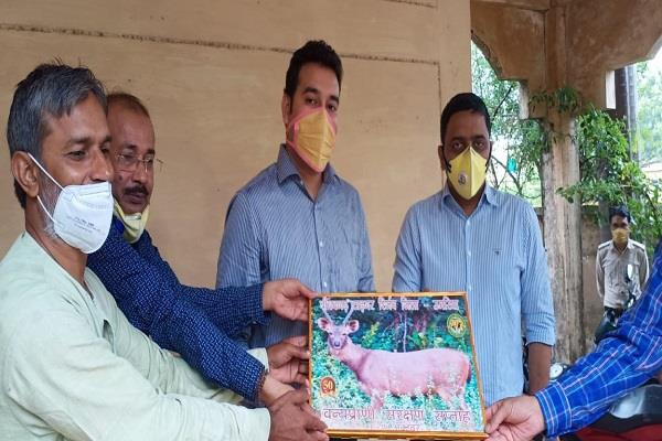 world environment day celebrated at umaria district press council office
